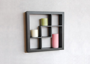 wall cube shelf
